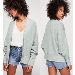 [Free People] Motions Cardigan Mint green